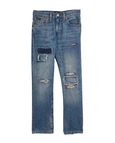 Sullivan Distressed Denim Jeans  Size 5-7