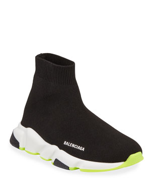 4a4957dc66c Balenciaga Speed Mid-Top Trainer Sock Sneakers