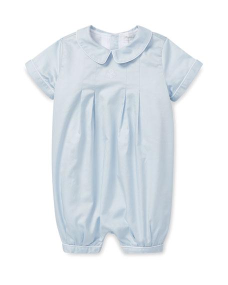 Ralph Lauren Childrenswear Box Pleated Cotton Shortall, Size