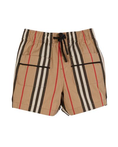 Conroy Icon Stripe Shorts  Size 6M-2
