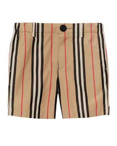 Nicki Icon Stripe Shorts  Size 3-14