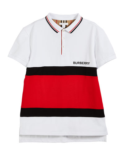 Gerard Colorblock Polo Shirt  Size 10-14