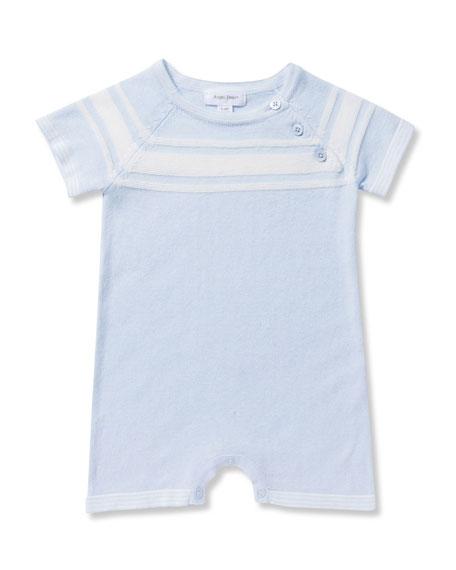 Angel Dear Take Me Home Knit Shortall, Size 0-12 Months