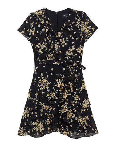 Luella Floral Wrap Dress  Size 8-16