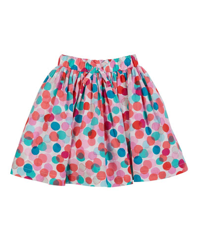 Ariel Dotted A-Line Skirt  Size 2-6