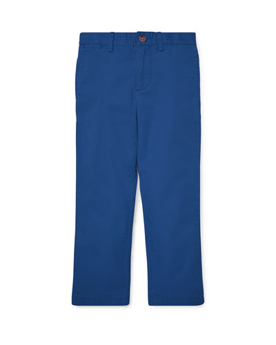 Flat Front Cotton Pants  Size 5-7