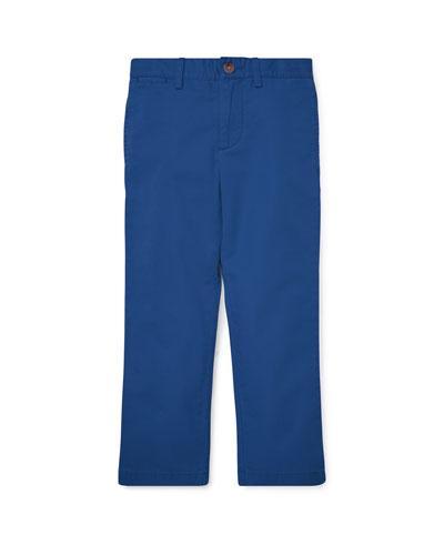 Flat Front Cotton Pants  Size 2-4