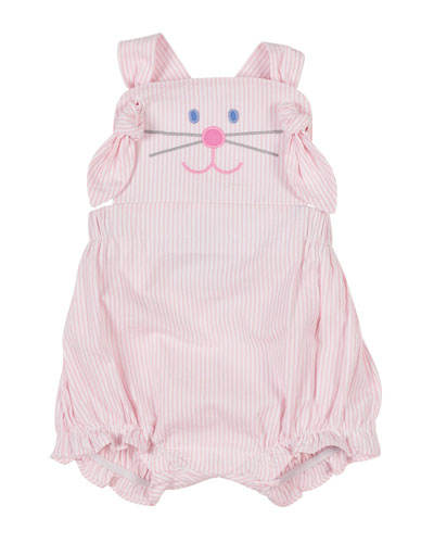Hop To It Bunny Romper  Size 3-18 Months
