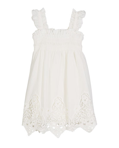 Battenberg Lace Sun Dress  Size 4-7