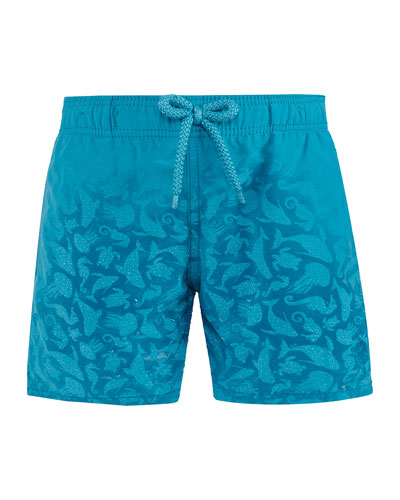 Jim Sea Creatures Swim Trunks  Size 2-14