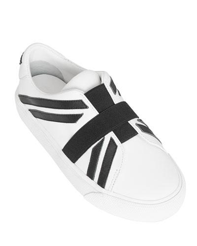 Cedbury Union Jack Leather Slip-On Sneakers  Toddler/Kids