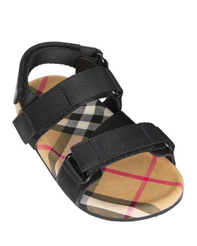 Redmire Check-Lined Sandal  Baby/Toddler