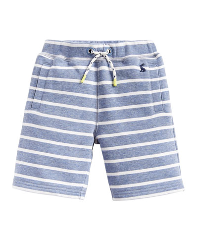 Seb Striped Jersey Shorts  Size 3-6