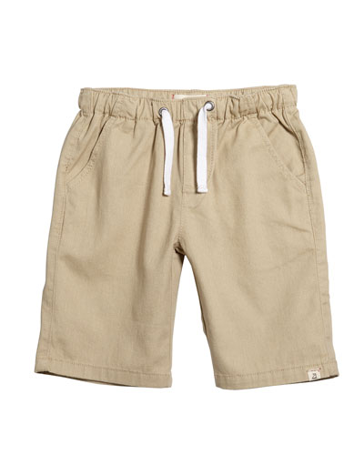 Stone Twill Bermuda Shorts w/ Children's Book  Size 0M-10