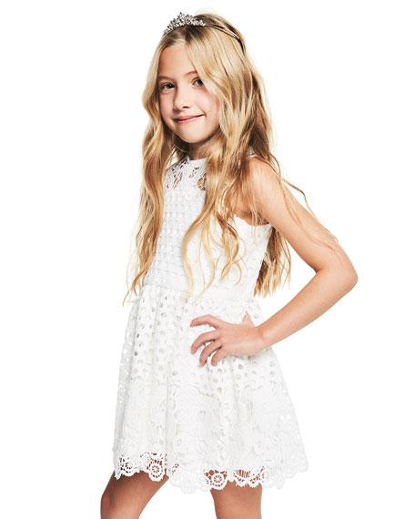Bardot Junior Perry Lace Sleeveless Dress, Size 8-16
