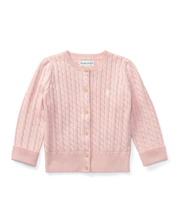 aeca243fa Ralph Lauren Childrenswear Cable Knit Cotton Cardigan