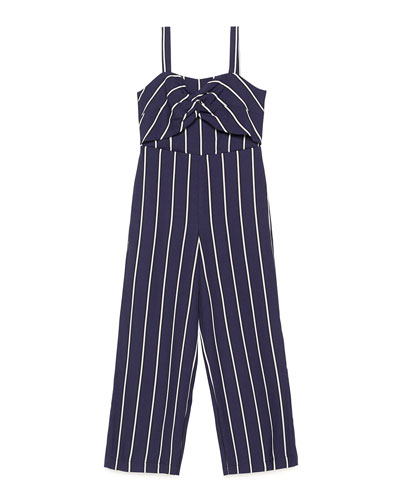 Lola Striped Jumpsuit, Size 8-16