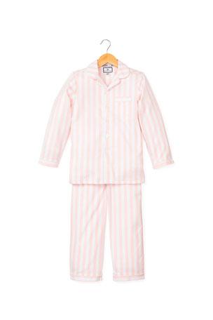 Petite Plume Modern Stripe Pajama Set, Size 6M-14