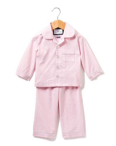 Stripe Seersucker Pajama Set  Size 6M-14