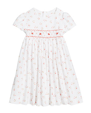 082d51483e6 Luli   Me Floral Smocked Waist Dress
