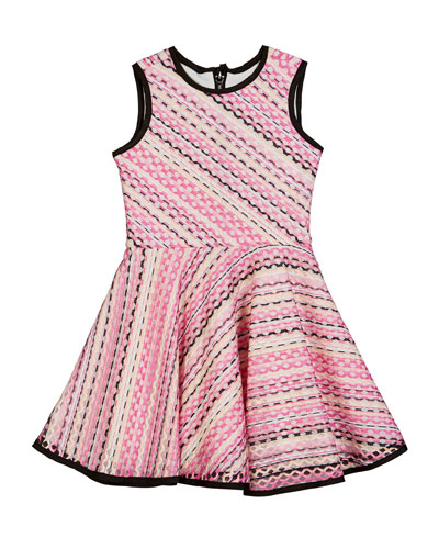 Hadley Crochet Swing Dress, Size 7-16
