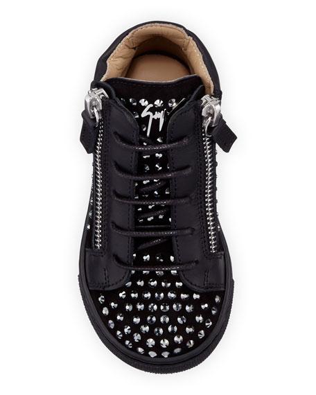 Giuseppe Zanotti Boy's Studded High-Top Sneakers, Baby/Toddler