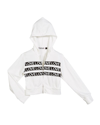 Love Taping Hooded Zip-Up Jacket  Size S-XL