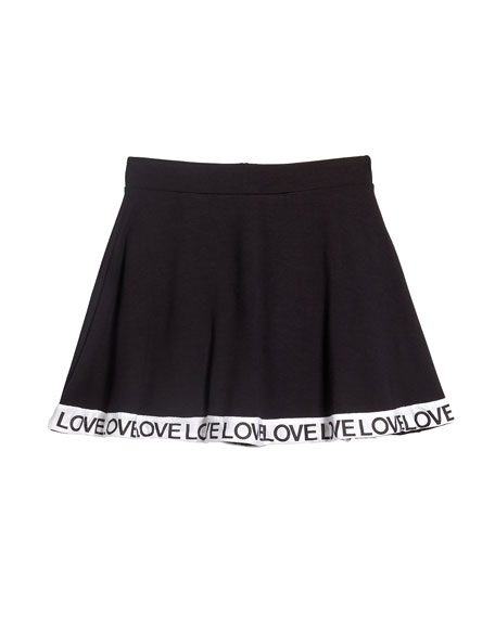 Flowers By Zoe Flare Skort w/ Love Taping, Size S-XL