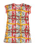 Molo California Floral Print Jersey V-Neck Dress, Size 2T-12