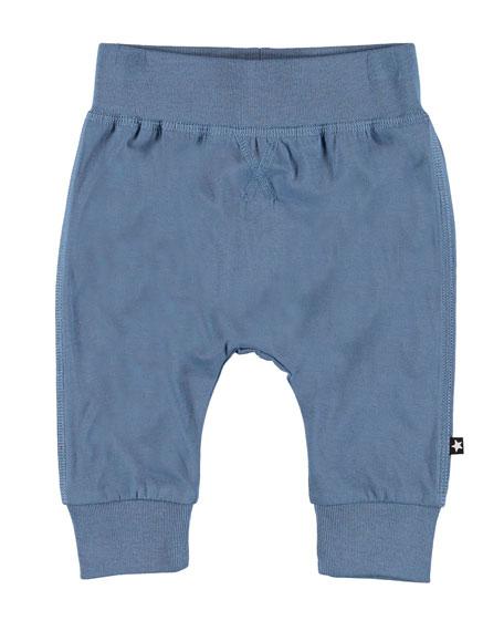 Molo Sammy Basic Jersey Stretch Pants, Size 3-24 Months