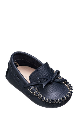 Elephantito Leather Driver Loafer, Baby