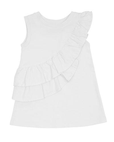 Sleeveless Ruffle Dress  Size 2-4T
