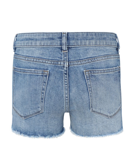 DL1961 Premium Denim Girls' Lucy Cut Off Denim Shorts, Size 7-18