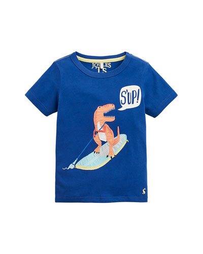 Archie Textured Chameleon Graphic Tee  Size 2-6