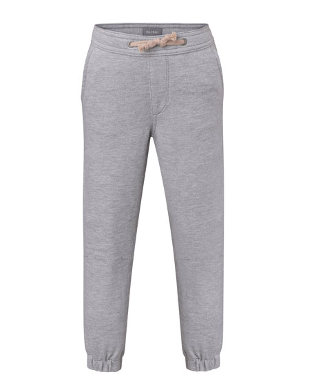 DL1961 Premium Denim Jackson Heathered Joggers, Size 2-7