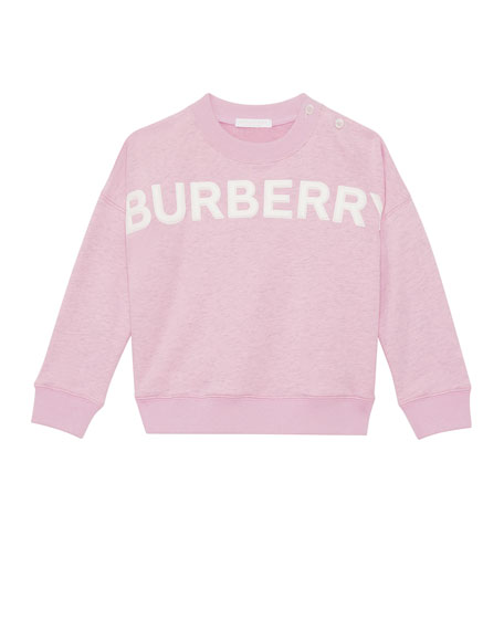 Burberry Mindy Embossed Logo Sweatshirt, Size 6M-2