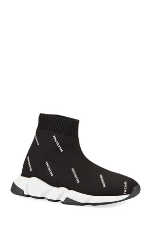 Balenciaga Kids' Tall Speed Knit Sock Sneakers, Toddler/Kids
