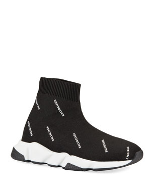 281a619a6eb6 Balenciaga Kids  Tall Speed Knit Sock Sneakers