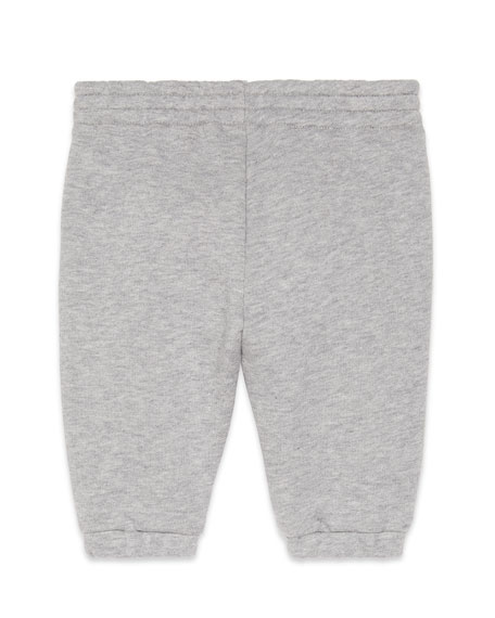 Gucci Jogging Pants w/ Diagonal Stripe Trim, Size 6-36 Months
