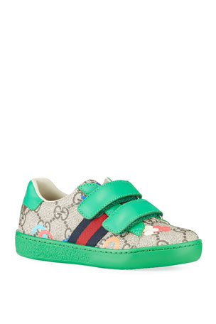 Gucci Ace GG Ranch Sneakers, Baby/Toddler