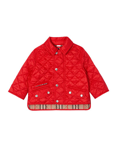 Brennan Quilted Snap Jacket  Size 6M-2