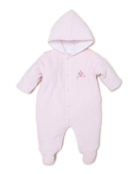 Kissy Kissy Unicorn Magic Velour Hooded Footie Bunting, Size 0-9 Months