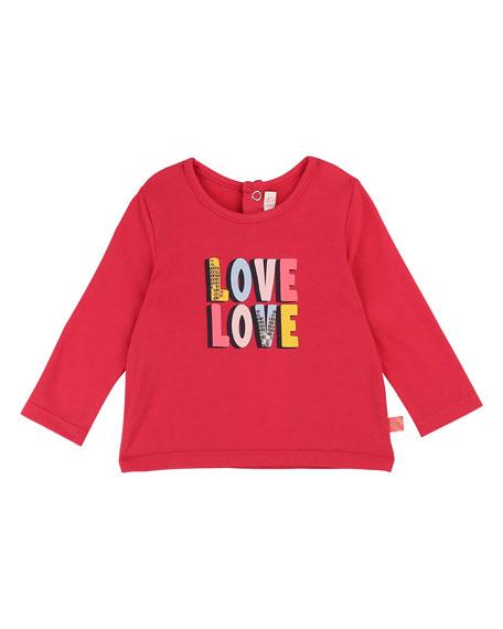 Billieblush Love Love Sequin Graphic Tee, Size 12M-3