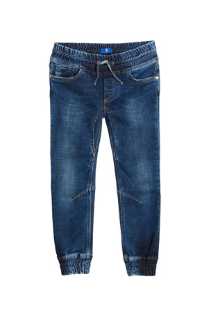 Stefano Ricci Kids' Denim Sport Trousers, Size 6-14