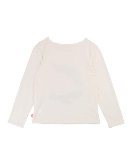 Billieblush Girls' Unicorn Long-Sleeve Tee, Size 4-12