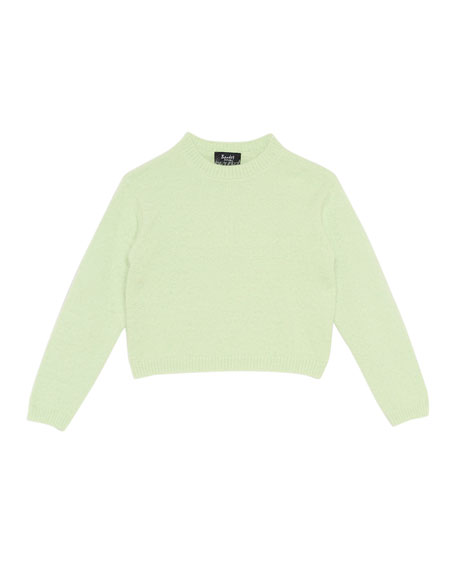 Bardot Junior Cropped Sweater, Size 8-16