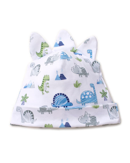 Kissy Kissy Dino Crew Printed Baby Hat