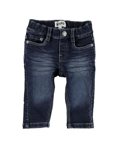 Boy's Sonny Skinny Denim Jeans, Size 6-24 Months