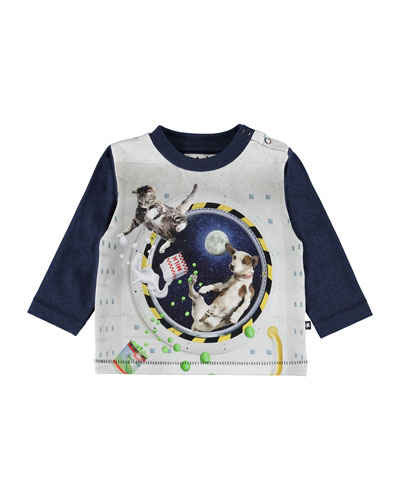 Enovan Floating in Space Graphic Tee, Size 6-24 Months