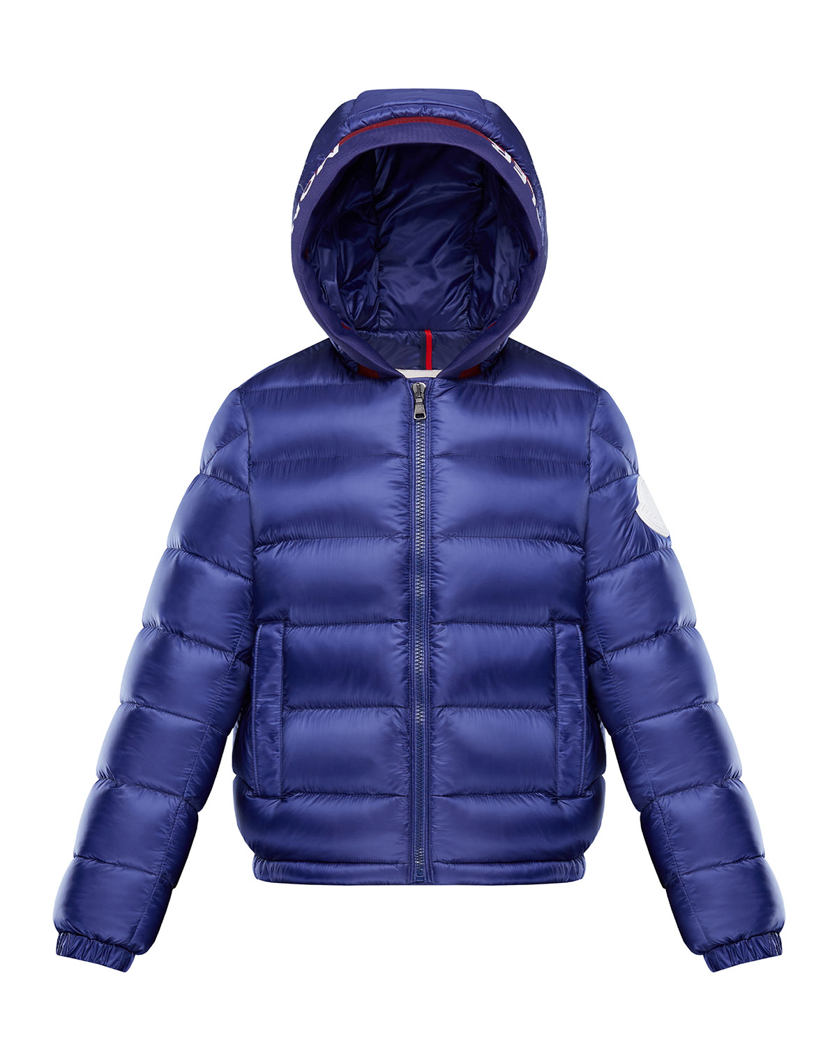 4b4aad76f Quilted Logo-Trim Hooded Puffer Jacket, Size 8-14